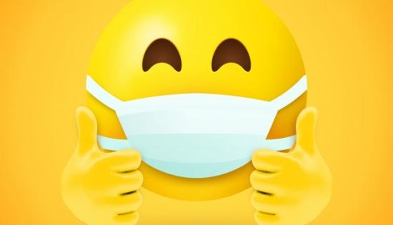 emoji-met-mondmasker-en-duimen-omhoog_1319-950