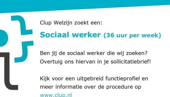 vacature sociaalwerker okt 2020 socmedia