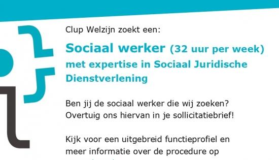 vacature sociaal werker jd  okt 2020 socmedia